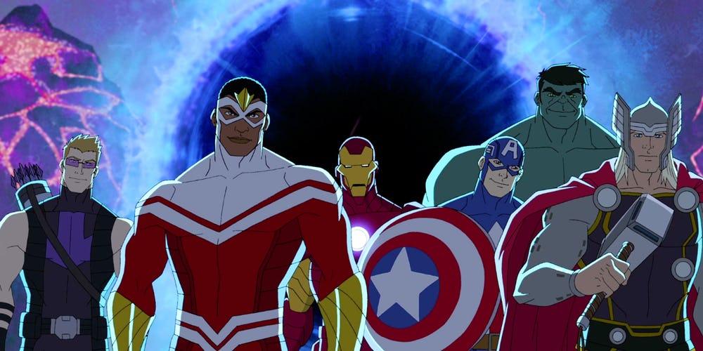 Marvel pourrait annuler tous ses anim s en cours les dessins - Spiderman 1 dessin anime ...