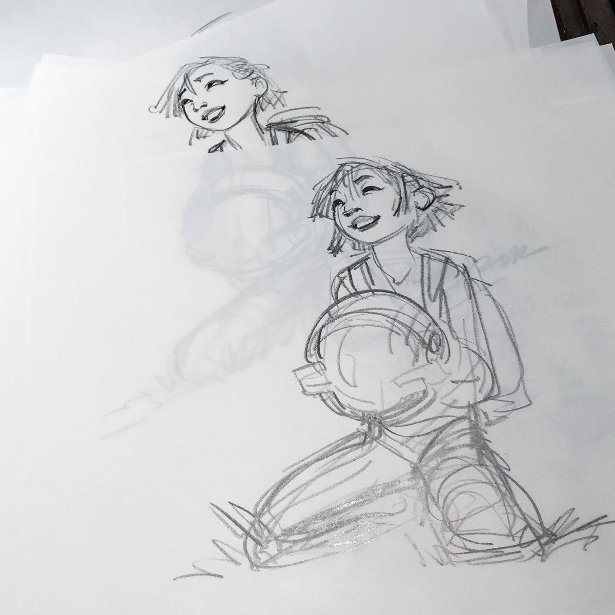 Glen Keane - Sketch - Fei Fei
