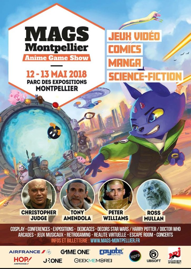 Affiche Montpellier Anime Game Show 2018