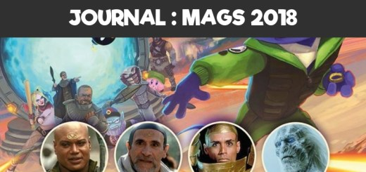Journal Mang'animes 2018