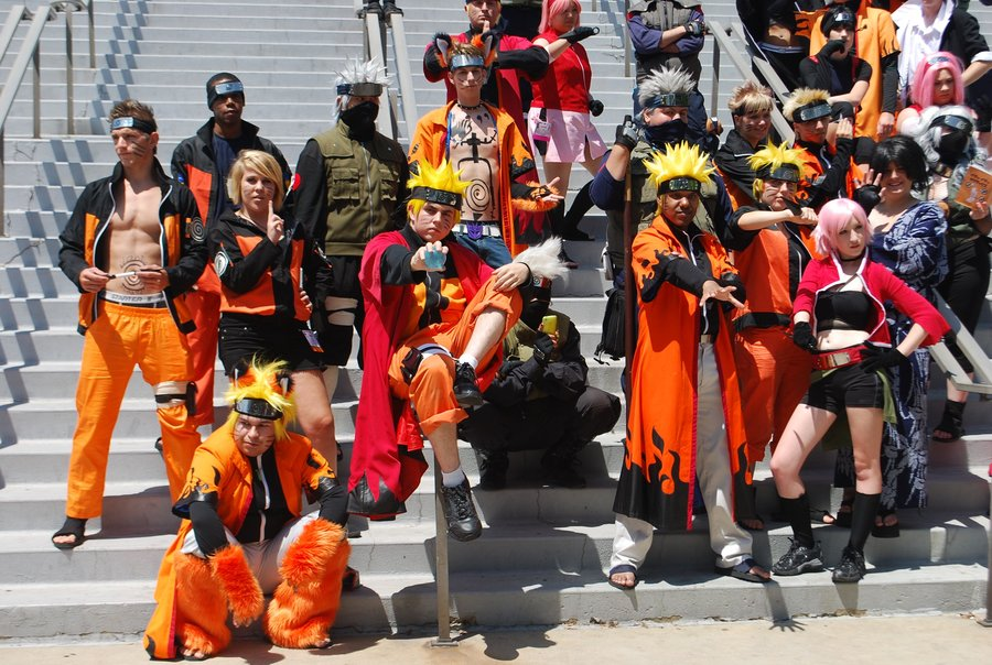 Narutos convention anime expo 2012 deviant art