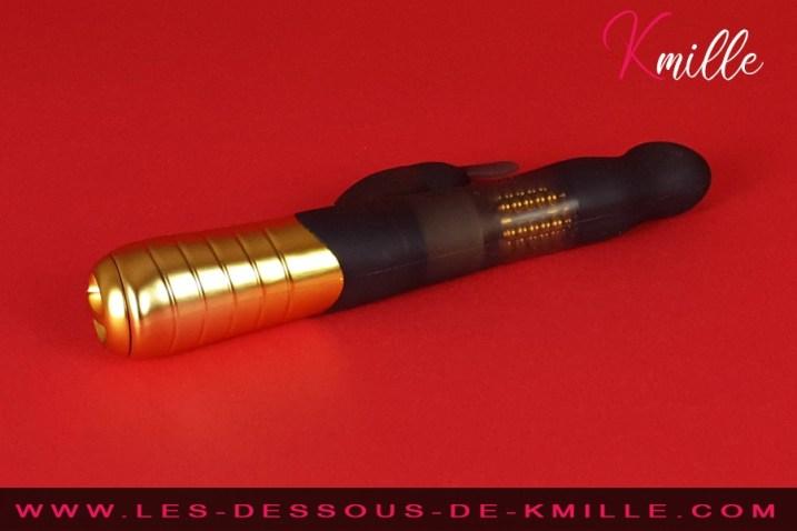 Test du vibromasseur rabbit best-seller, de la marque Dorcel.