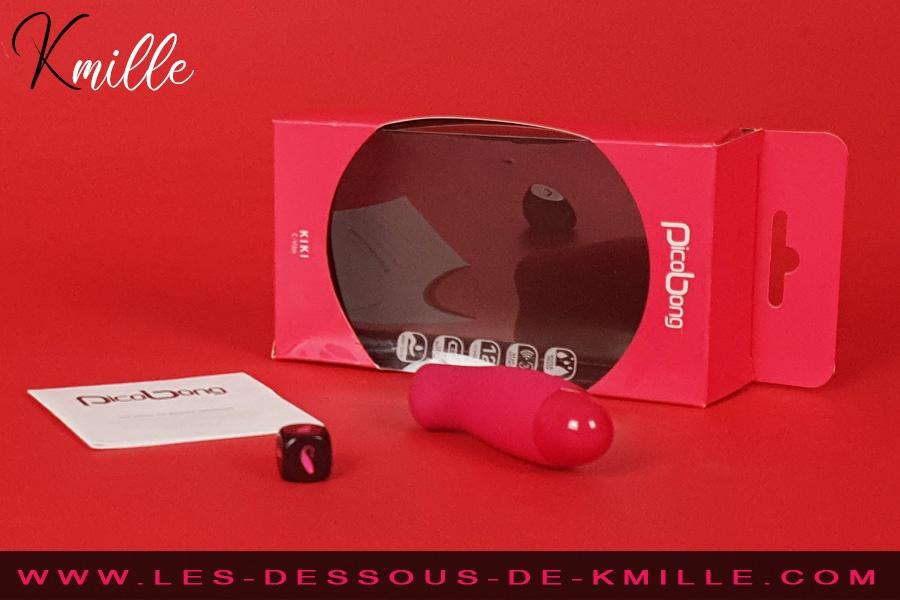Kmille teste le mini stimulateur de clitoris PicoBong Kiki