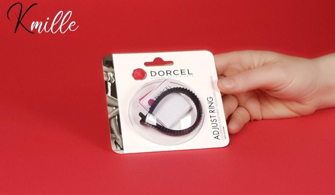Le cockring Adjust Ring de Dorcel, un anneau pénien réglable !