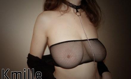 Ensemble résille et son collier sexy by Amantis