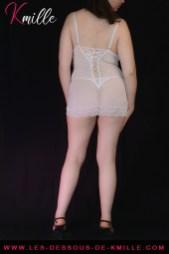 Kmille présente la nuisette Wahira, de la marque Livco Corsetti.