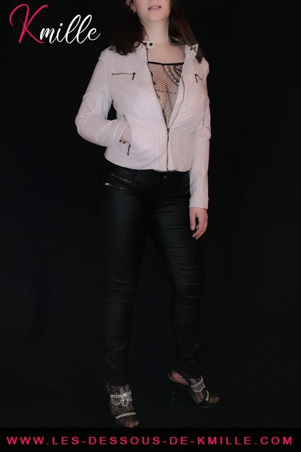 Kmille présente la combinaison en résille Abra, de la marque Livco Corsetti.