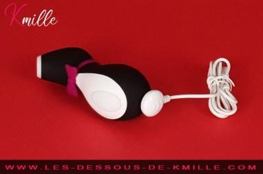 Kmille teste le Satisfyer Pro Penguin.