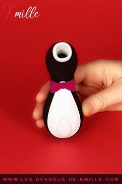 Test du stimulateur de clitoris sans contact fun, de la marque Satisfyer.