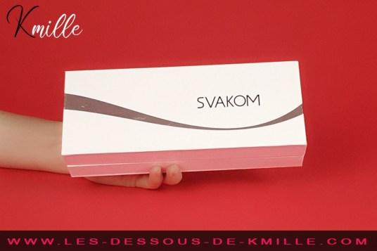 Kmille teste le stimulateur de clitoris Keri, de Svakom.