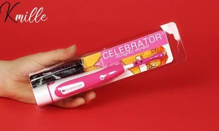 Le stimulateur brosse à clitoris Incognito, de la marque Celebrator