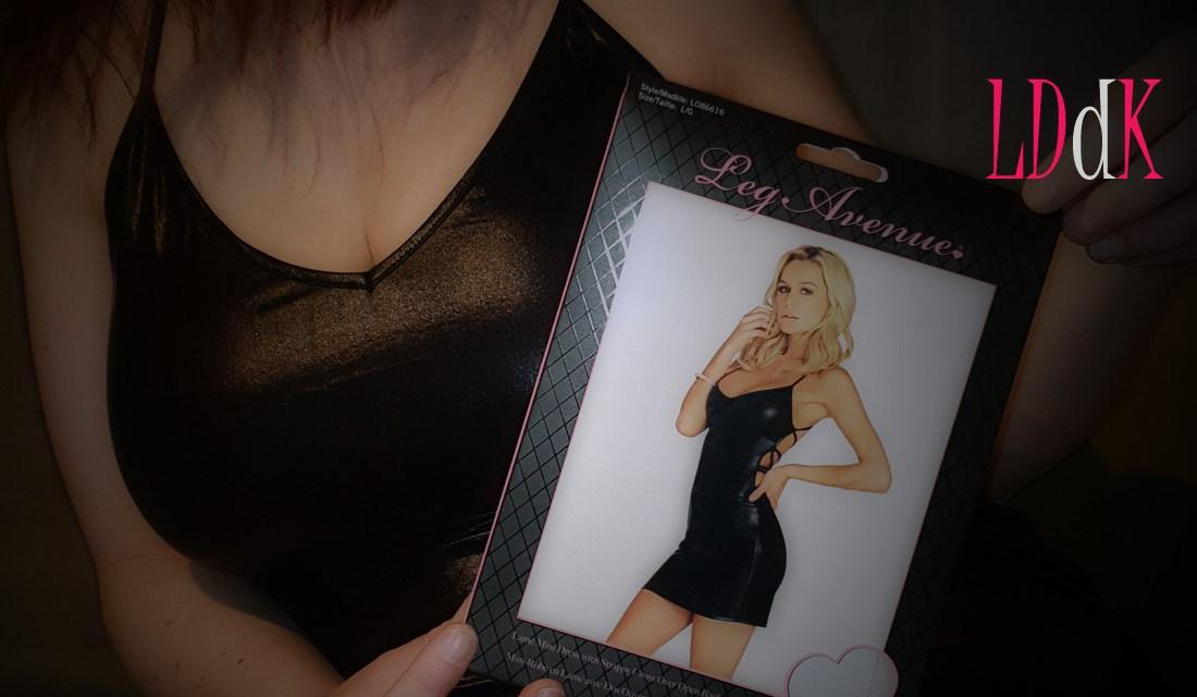 Avis sur la mini robe Misty de Leg Avenue