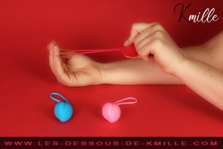 Le kit boules de Geisha Débutantes, Satisfyer Balls.