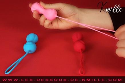 Le kit boules de Geisha Intermédiaires, Satisfyer Balls.