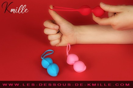 Le kit boules de Geisha Expérimentées, Satisfyer Balls.