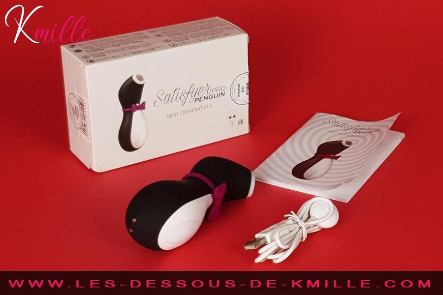 Stimulateur de clitoris Satisfyer Pro 2 Penguin