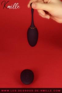 Kmille teste l'oeuf vibrant télécommandé I've got you, de la marque Fifty Shades.