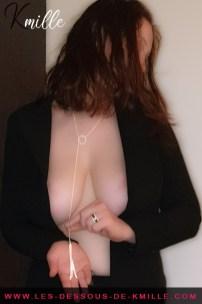 Kmille présente le collier avec franges The Magnifique, de Bijoux Indiscrets.