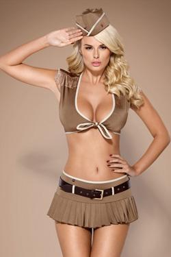 Costume Militaire Obsessive 814-CST-4