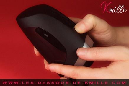 Test du stimulateur de gland chauffant, de la marque Satisfyer.