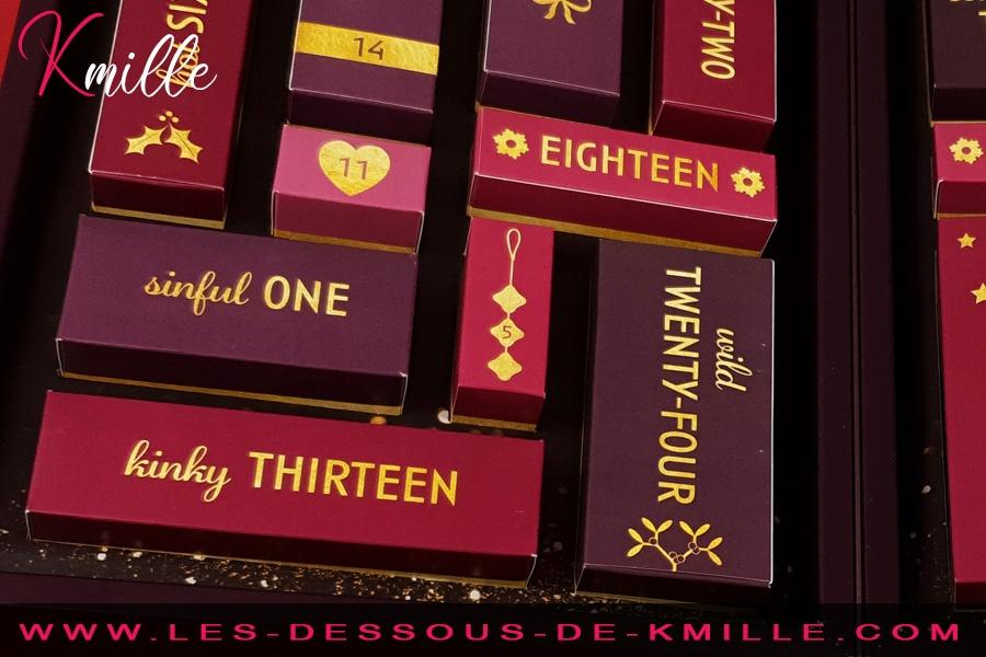 Kmille présente le calendrier de l'Avent Erotic.