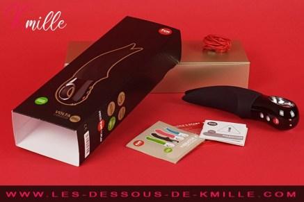 Le stimulateur Volta Black Line Edition de Fun Factory