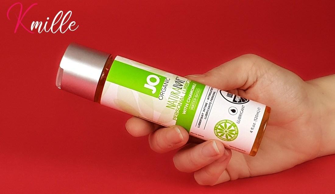 Le lubrifiant Organic NaturaLove, de la marque System JO