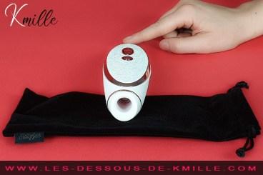 Le stimulateur de clitoris sans contact, Satisfyer Luxury Prêt à Porter.