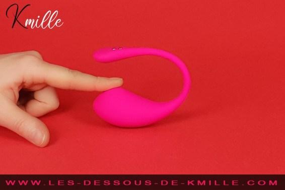 Kmille compare les oeufs vibrants connectés, Lovense Lush 1 et 2.