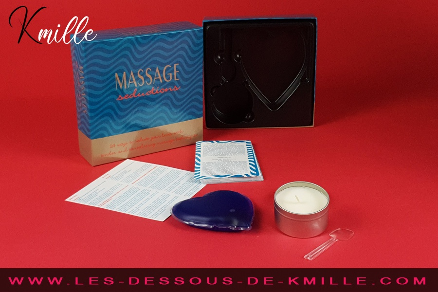 Kmille teste le jeu coquin Massage Seductions, de Kheper Games.