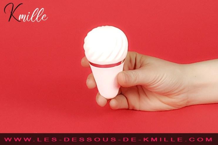 Kmille teste le stimulateur Satisfyer Layons Sweet Sensation.