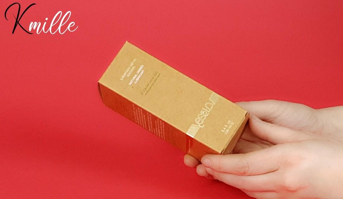 Le lubrifiant mixte Naturel Aloe Vera, de la marque YesforLOV