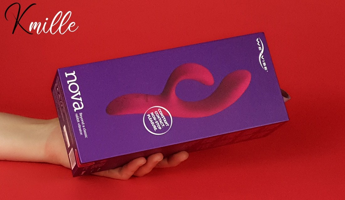 Le vibromasseur rabbit connecté Nova 2, de We-Vibe