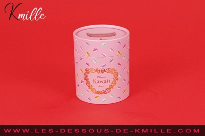 Test d'un macaron vibrant, coquin et mignon, de la marque Tokyo Design.