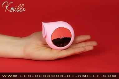 Kmille teste le stimulateur clitoridien sonique Lelo Sila.