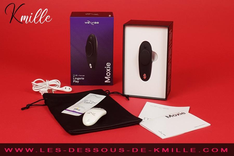 Kmille teste le stimulateur clitoridien connecté We-Vibe Moxie Noir.