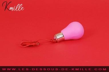 Test du vibromasseur en forme d'ampoule, de la marque Gvibe.