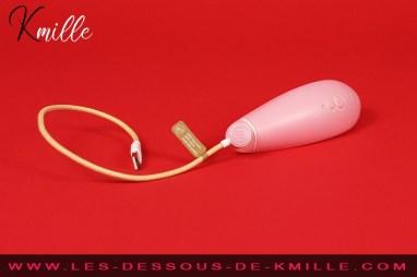 Test du smart stimulateur clitoridien écolo de la marque Womanizer.