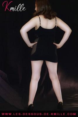 Kmille présente la mini robe Tunissin, de la marque Livco Corsetti.