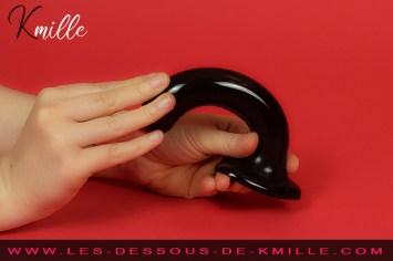 Kmille teste le gode ventouse point G & Prostate M, de la marque Strap-on-Me.