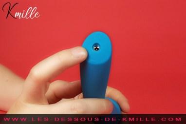 Kmille teste le vibromasseur externe Lelo Smart Wand 2 Medium.
