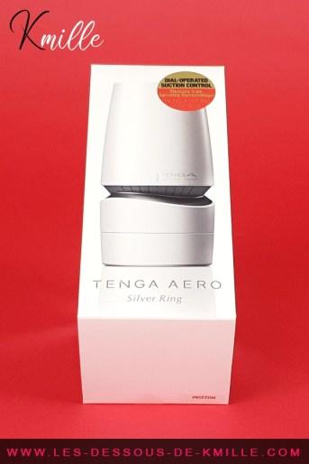 Céd' teste le masturbateur Tenga Aero Silver Ring.