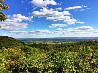 Plaines du Québec et de l'Ontario, depuis le parc de la Gatineau.