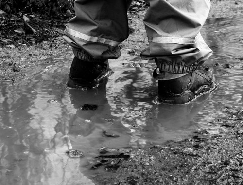 des activités sous la pluie