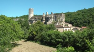 Le chateau de Gavaudun