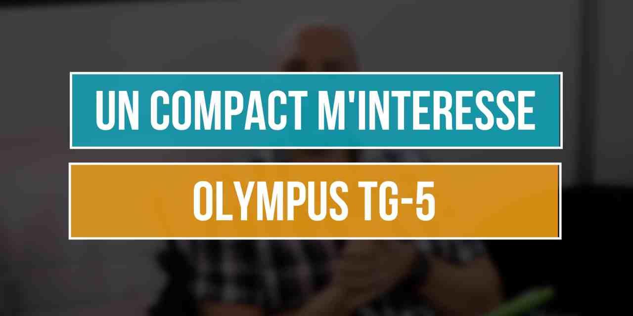 Olympus TG-5 : Un compact pour compléter mes hybrides