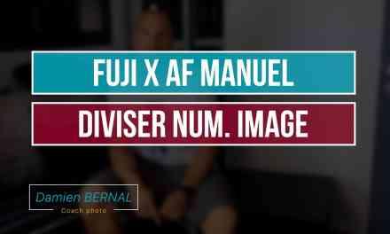 Mise au point manuelle Diviser Num. Image