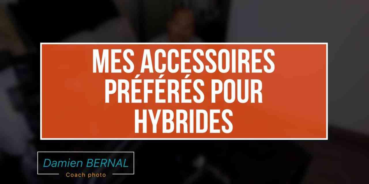 Quels accessoires pour appareil photo hybride (Courroie, trepieds, housse…)