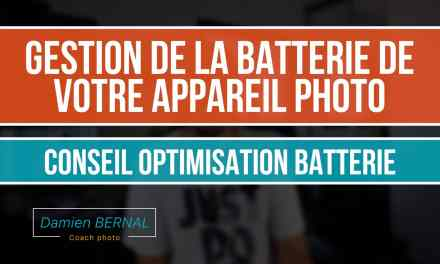 Optimisation de la batterie des Fuji X-T2, X-T20, X100F, X-PRO2