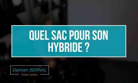Quel choix de sac pour un appareil photo hybride ?